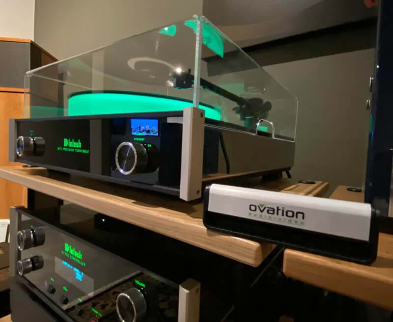 McIntosh Turntable sound system