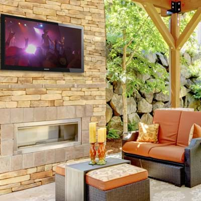 Outdoor Music and TV